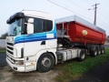 Vand AUTOCAMION SEMIREMORCA Scania R164 CAMION BASCULANT